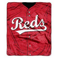 Cincinnati Reds Jersey Raschel Throw by Northwest