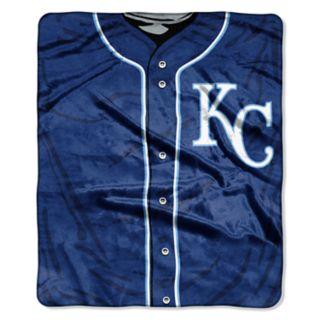 Kansas City Royals Jersey Raschel Throw by Northwest