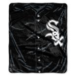 Chicago White Sox Jersey Raschel Throw by Northwest