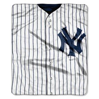 New York Yankees Dropdown Raschel Throw by Northwest