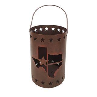 St. Nicholas Square® Texas Lantern Hurricane Candle Holder