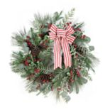 St. Nicholas Square® Indoor Artificial Glitter Christmas Wreath