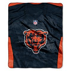 Chicago Bears Jersey Raschel Throw by Northwest