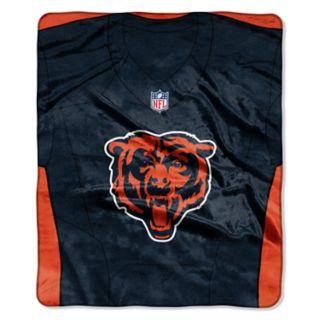 Chicago Bears Jersey Raschel Throw by Northwest