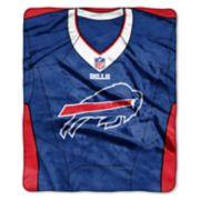 Buffalo Bills Jersey Raschel Throw by Northwest
