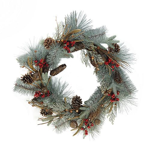 St. Nicholas Square® Indoor Artificial Christmas Wreath