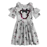 Disney's Minnie Mouse Girls 4-7 Cold-Shoulder Dress by Jumping Beans®