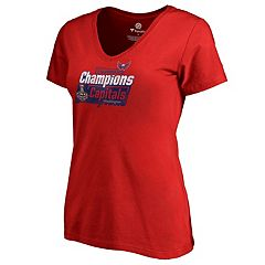 Women's Washington Capitals 2018 Stanley Cup Playoffs Man Advantage Tee