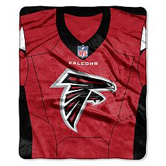 Atlanta Falcons Jersey Raschel Throw by Northwest