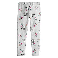 Disney's Minnie Mouse Girls 4-7 Floral Print Leggings by Jumping Beans®