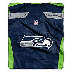 Seattle Seahawks Jersey Raschel Throw by Northwest