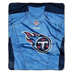Tennessee Titans Jersey Raschel Throw by Northwest