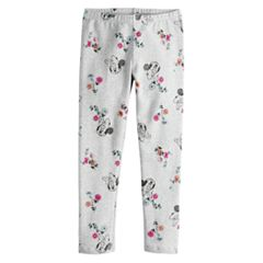 Disney's Minnie Mouse Toddler Girl Floral Print Leggings by Jumping Beans®
