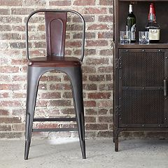 Pulaski Rowan Industrial Bar Stool