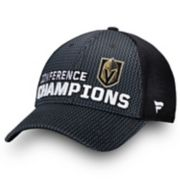 Adult Vegas Golden Knights 2018 Conference Champions Locker Room Adjustable Cap