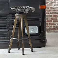 Pulaski Tractor Seat Swivel Bar Stool