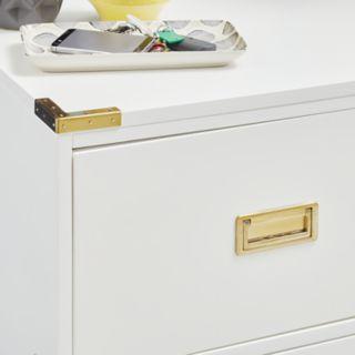 Pulaski Campaign 3-Drawer Dresser