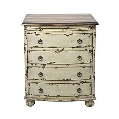 Pulaski Distressed 4-Drawer Dresser
