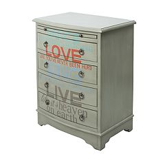 Pulaski Words of Wisdom 4-Drawer Dresser