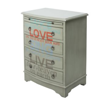 Pulaski Words of Wisdom 4-Drawer Dresser