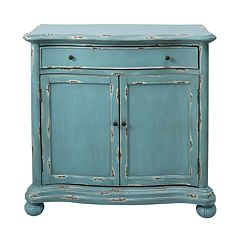 Pulaski French Country Distressed Storage Cabinet