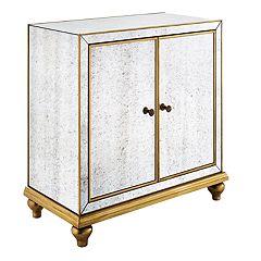 Pulaski Mirrored Storage Cabinet