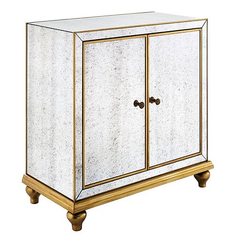 Pulaski Mirrored Storage Cabinet