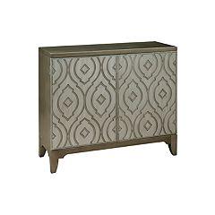 Pulaski Imperial Metallic Bar Cabinet