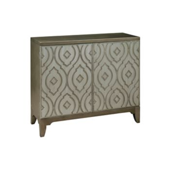 Pulaski Imperial Metallic Bar Cabinet
