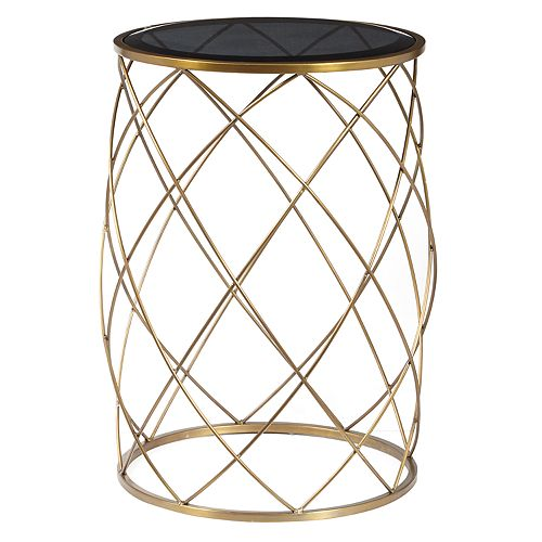 Pulaski Convex Curved End Table