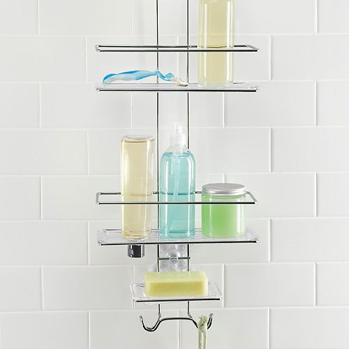 OXO Stainless Steel 3-tier Shower Caddy