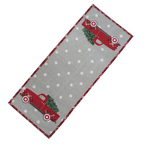 St. Nicholas Square® Truck Table Runner - 36""