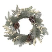 St. Nicholas Square® Indoor Artificial Pine Christmas Wreath