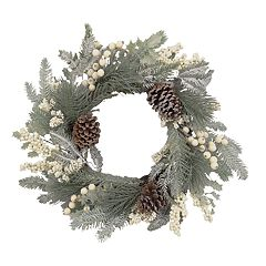 St. Nicholas Square® Indoor Artificial Pine Christmas Wreath