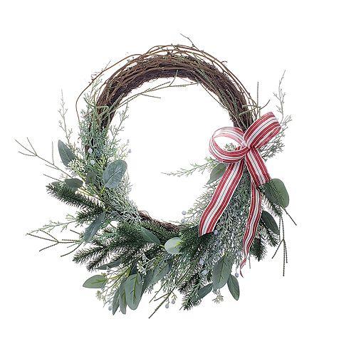 St. Nicholas Square® Artificial Greenery Wreath Wall Decor