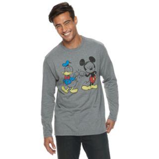 Men's Disney Mickey Mouse & Donald Duck Tee