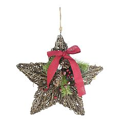 St. Nicholas Square® Light-Up Rustic Star Wall Decor