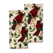 St. Nicholas Square® Cardinal Kitchen Towel 2-pack