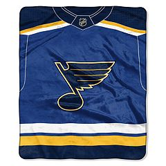 St. Louis Blues Jersey Raschel Throw by Northwest