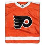 Philadelphia Flyers Jersey Raschel Throw by Northwest