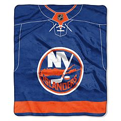 New York Islanders Jersey Raschel Throw by Northwest