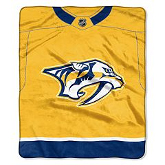 Nashville Predators Jersey Raschel Throw by Northwest