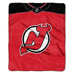 New Jersey Devils Jersey Raschel Throw by Northwest