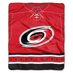 Carolina Hurricanes Jersey Raschel Throw by Northwest