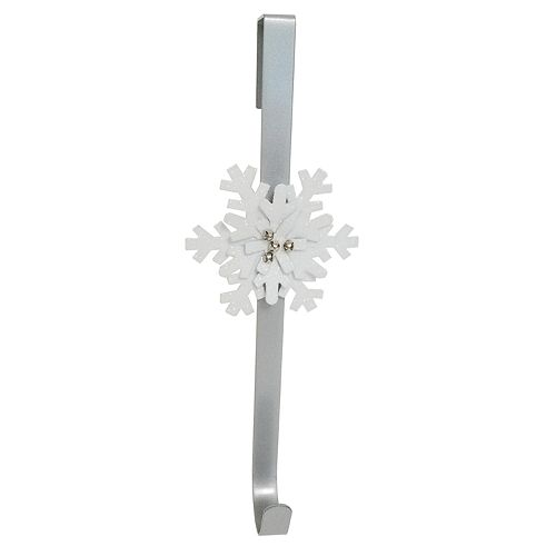 St. Nicholas Square® Over-The-Door Snowflake Christmas Wreath Hanger