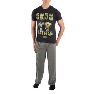 Men's Batman Tee & Sleep Pants Set