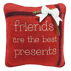 St. Nicholas Square® 'Friends' Mini Throw Pillow