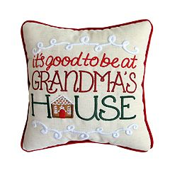 St. Nicholas Square® 'Grandma's House' Mini Throw Pillow