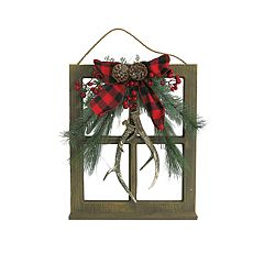 St. Nicholas Square® Light-Up Artificial Antler Wall Decor