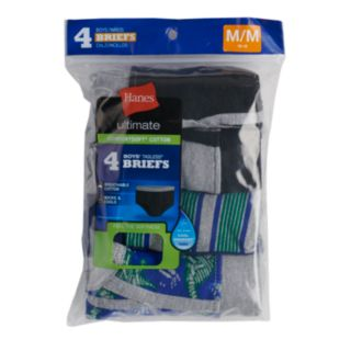Boys 4-20 Hanes Comfort Cotton 4-Pack Briefs